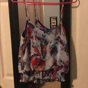 Xhilaration colorful blouse